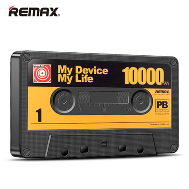 Remax vintage cinta desgin power bank 10000 mah banco pover portátil teléfono móvil cargador de batería externa para iphone 6 s poverbank