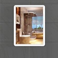 Зеркало для ванной комнаты, Пробивка, настенное зеркало для ванной комнаты, квадратное зеркало для макияжа, туалетное настенное туалетное зеркало wx11200946