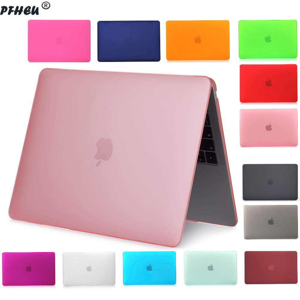 new Crystal Matte Frosted Case <font><b>Cover</b></font> Sleeve for <font><b>MacBook</b></font> Air 11 A1465 / air13 <font><b>13</b></font>.3 inch A1466 <font><b>pro</b></font> <font><b>13</b></font>.3 15 A1278 retina <font><b>13</b></font> <font><b>A1502</b></font> image