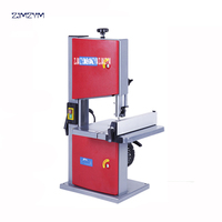JFB08 8 Inch Band Saw 220V Multifunctional Woodworking Band Sawing Machine Solid Wood Flooring Installation Work Table Saws 250W