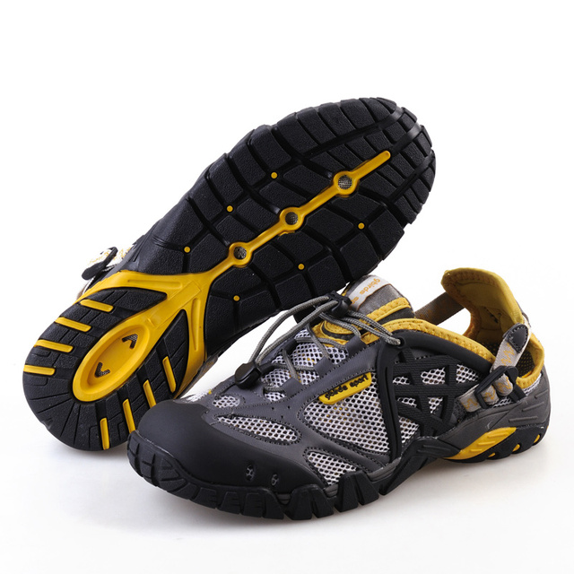 TKN Summer Hiking Shoes Men Quick Dry Waterproof Shoes Mesh Beach Outdoor Hiking Sandals Man Trekking Shoes Men Trail Footwear