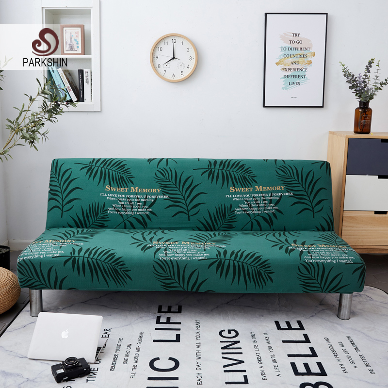 Parkshin 2019 All inclusive Folding Sofa Bed Cover Tight Wrap Sofa Towel Couch Cover Without Armrest housse de canap cubre sofa-in Sofa Cover from Home & Garden