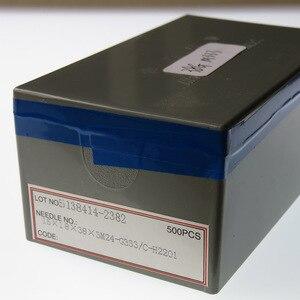 Image 4 - Aguja de fieltro M333 de 38G, aguja de fibra de lana merino, aguja no tejida, 500 Uds.