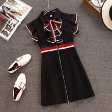 2abc9d1c0d23c Popular Runway Tie Dress-Buy Cheap Runway Tie Dress lots from China ...
