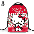 New Children School Backpacks 16'' Cartoon Student Backpack Bag Girls Kids Backpack Purple  Schoolbag for Girls