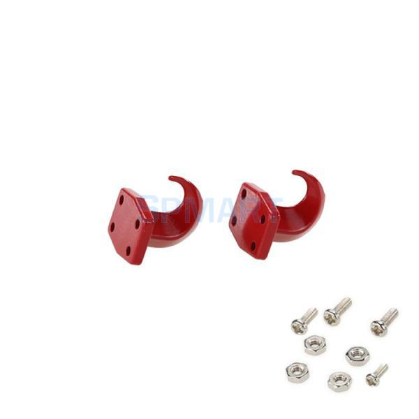 2Pcs RC Toy Winch Hooks For RC4wd 1/10 Axial Scx10 D90 D110 TF2 RC Rock Crawler