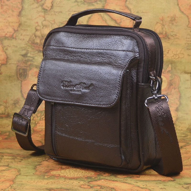 Famous Brand Cross Body Bag Genuine Leather Handbag for men Business Fashion Men Messenger Tote Bags Real Cowhide Shoulder Bag padieoe men s genuine leather briefcase famous brand business cowhide leather men messenger bag casual handbags shoulder bags