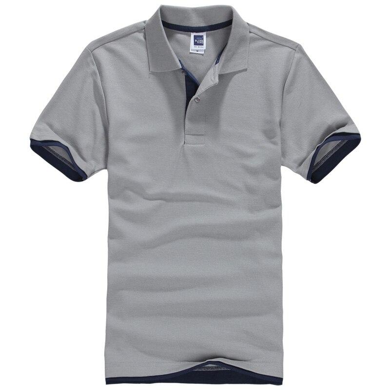 Mutter & Kinder Herzhaft 2017new Mode Marke Polo Shirts Männer Sommer Kurzarm Dünnes Hemd Baumwolle Männer Casual T-shirts M-3xl