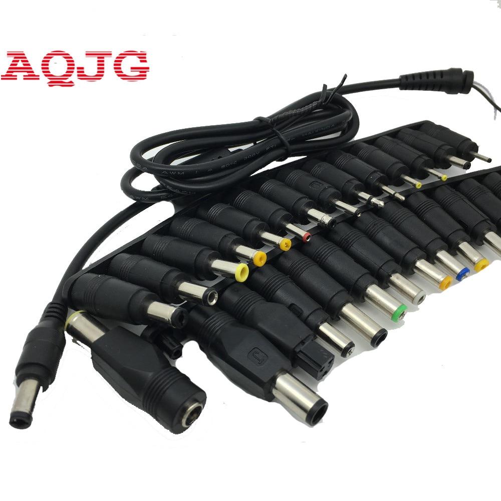 Nouveau 28 en 1 Set nouveau universel AC DC Jack connecteur connecteur pour ordinateur portable/ordinateur portable AC DC adaptateur d'alimentation avec câble 5.5*2.5