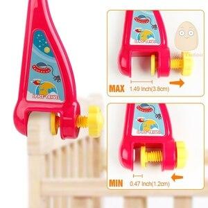 Image 5 - Łóżeczko dziecięce zabawka 0 12 miesięcy dla noworodka mobilna pozytywka dzwonek do łóżka z grzechotki zwierzątka wczesna nauka zabawki edukacyjne dla dzieci