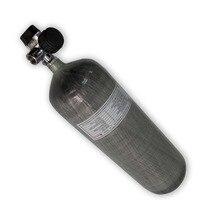 Tanque de Paintball cilindro de fibra de carbono de aire comprimido AC10921 9L 4500psi para botella de buceo Pcp Rilfe Envío Directo Acecare