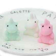 4CM Squishy 귀여운 미니 동물 냄새가 좋은 크림 느린 상승 짜내다 아이 장난감 Kawaii 소프트 Squish Antistress 장난감 어린이 선물 가제트