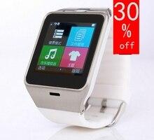 Bluetooth Smart Uhr tragbare geräte Smartwatches Unterstützung Sim-karte Für Samsung Huawei ios Android telefon pk dz09 uhr GVah