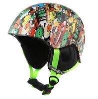 0104011 Kid Ski Helmet ABS CE Certificate Children Ski Open Face Helmet Skateboarding Skiing Helmets Snowboard