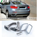 Hot sell  auto E71 X6 car exhaust tips for BMW E71 X6 exhaust end tip car body kit 2008-2013