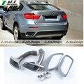 Hot vender auto escape dicas para BMW E71 X6 E71 X6 carro kit de escape extremidade da ponta do corpo do carro 2008-2013