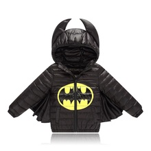 Warm Batman Design Baby Winter Jacket