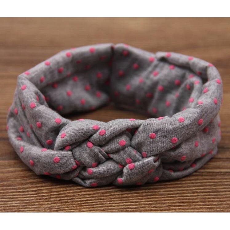 TWDVS Babe Haarbanden Afdrukken Knoop Haarband Meisjes Elastische - Kledingaccessoires - Foto 4