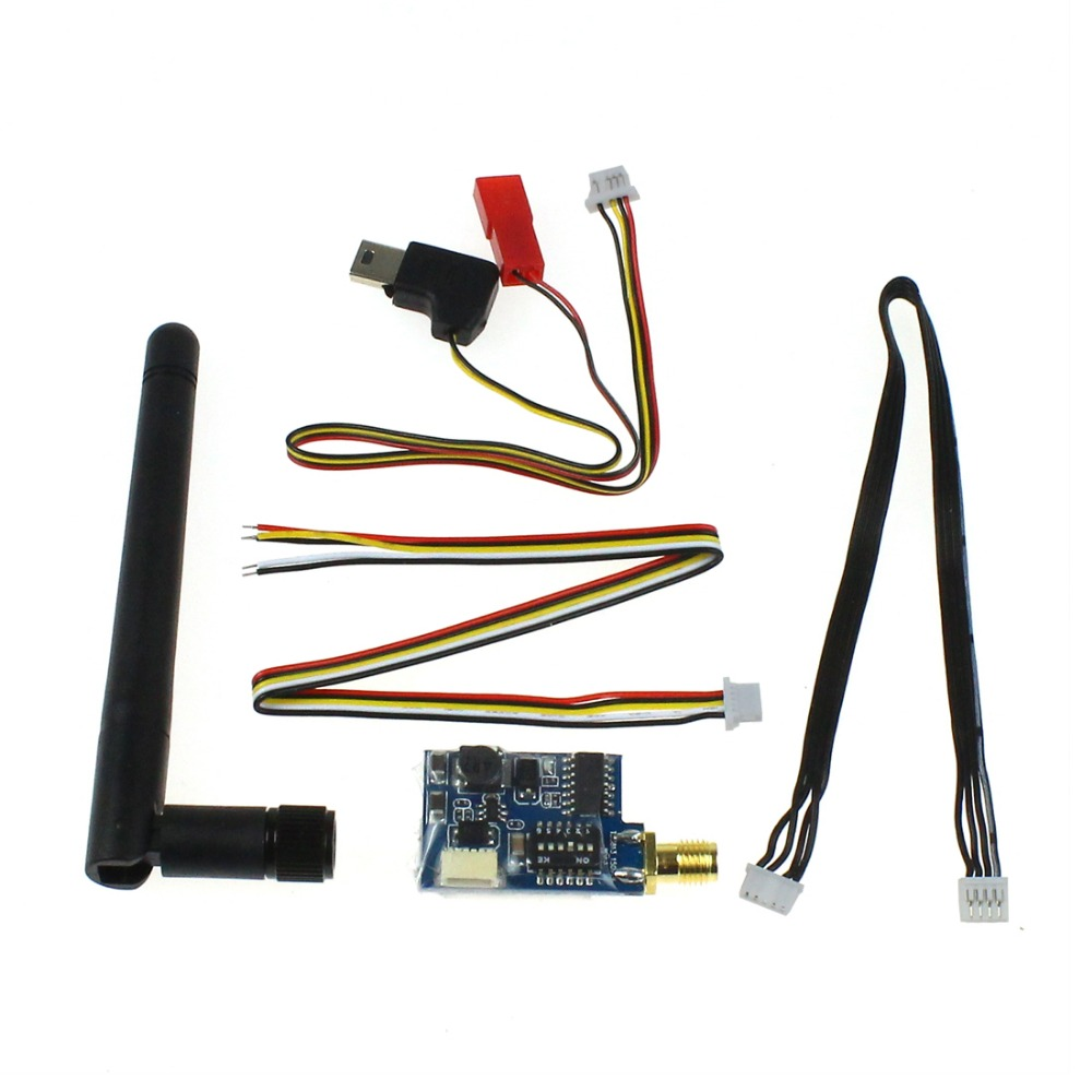 MINI 5.8G 40CH 32 Channel Image Transmission 200mw Transmitter TS582S for Multirotor and Ultralight DJI Aircraft F08285