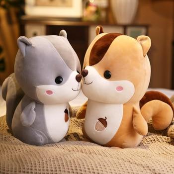 Cute Squirrel Doll Plush Toy Birthday Gift Pillow