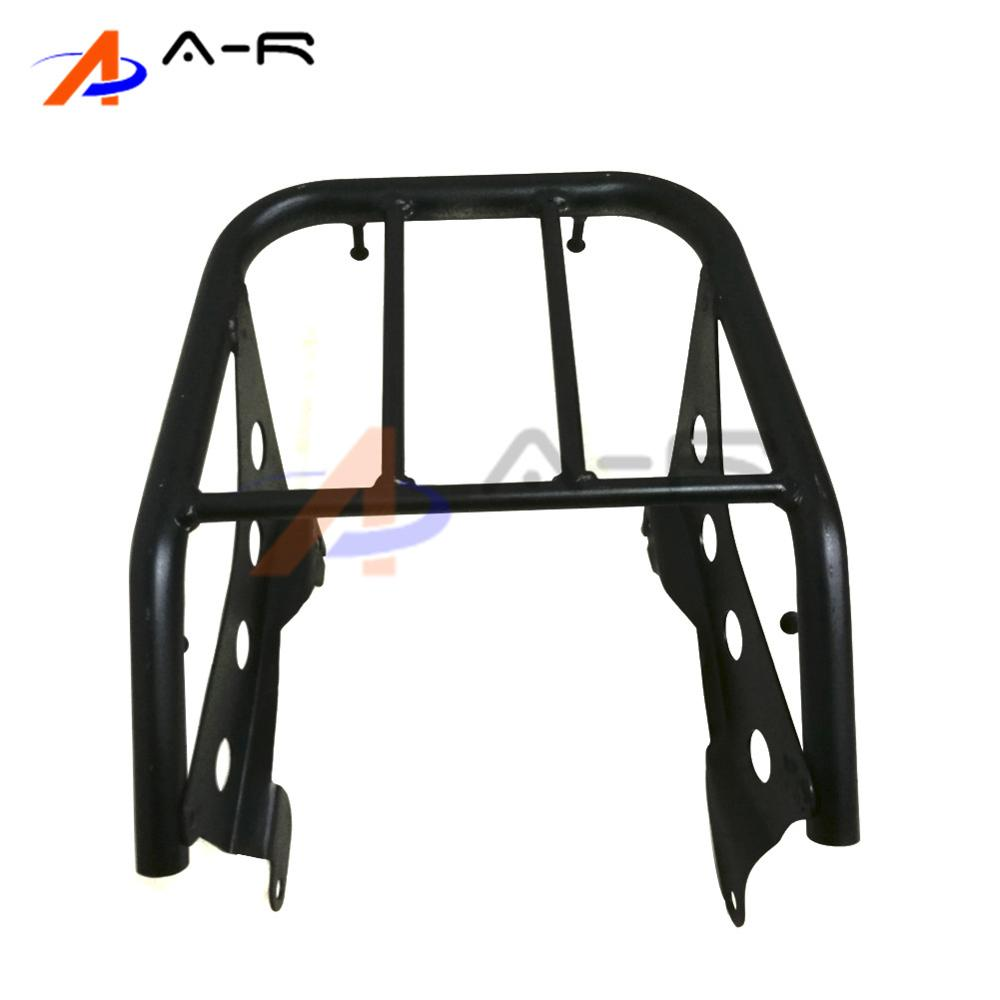 Motorcycle Luggage Rack Support Shelf Metal Solo Seat Rear Fender Luggage Rack  for Yamaha TTR250 TT-R250 Heavy Duty partol black car roof rack cross bars roof luggage carrier cargo boxes bike rack 45kg 100lbs for honda pilot 2013 2014 2015