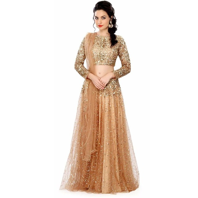 Vestido largo Formal De lentejuelas para mujer, traje De 2 piezas, largo y elegante, hecho a medida