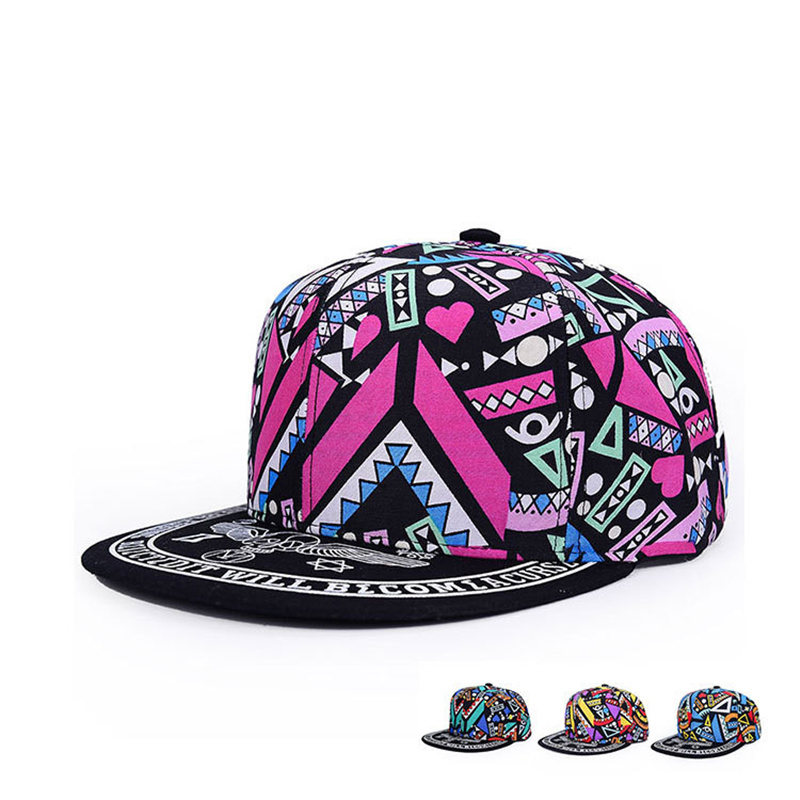 2019 Fashion Cute Snapbacks For Women Gorras Planas Women   Cap   Hip Hop Snapback Hats   Baseball     Caps   Casquette Women's   Cap
