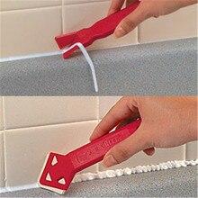 2 шт./упак. Professional Caulk Remover клей скребок Инструмент легко чистить плитка Caulk очиститель