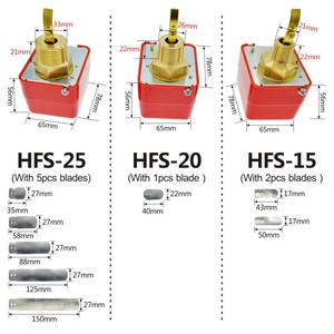 """Image 2 - Paddle Water Pump Flow Switch Water flow switch HFS 25 HFS 20 HFS 15 1"""" 1/2"""" 1/4"""""""