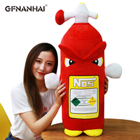 1pc 80cm Big Size Simulation Plush toy kawaii Fire extinguisher Plush Pillow Stuffed Soft toys Sofa Cushion Home Decor Gift