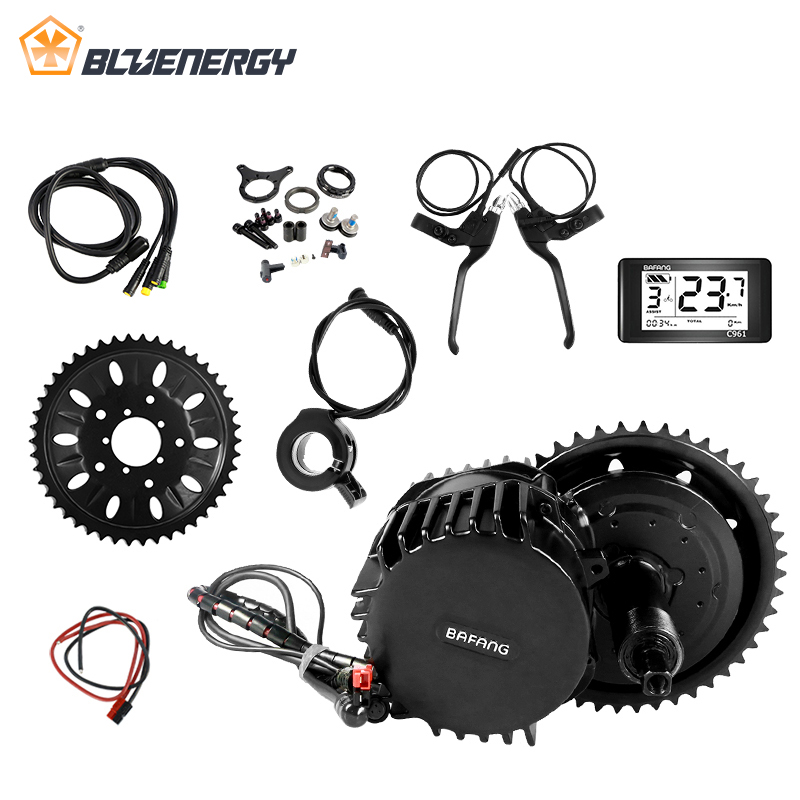 48V 1000W 68mm New design Bafang/8fun BBSHD mid crank drive motor kits C965 lcd display Motor kit eletric bicycle ebike kits trustfire d002 2xcree xm l2 1000lm 4 mode led bicycle light led torch lamp with 4 18650 battery pack and charger