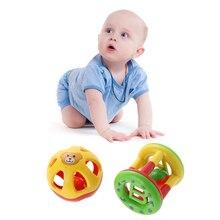 Cute Handbells Musical Developmental Baby Toys Bed Bells