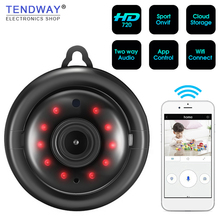 Tendway Mini Camcorders WIFI 720P IP Camera Wireless Small C