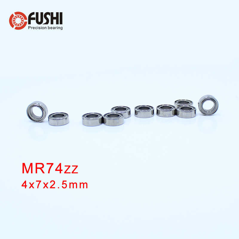 MR128zz MR148zz MR74zz MR83zz MR93zz rodamiento de bolas 10 Uds ABEC-5 miniatura métrica de acero cromado MR128z MR148z MR74z MR83z