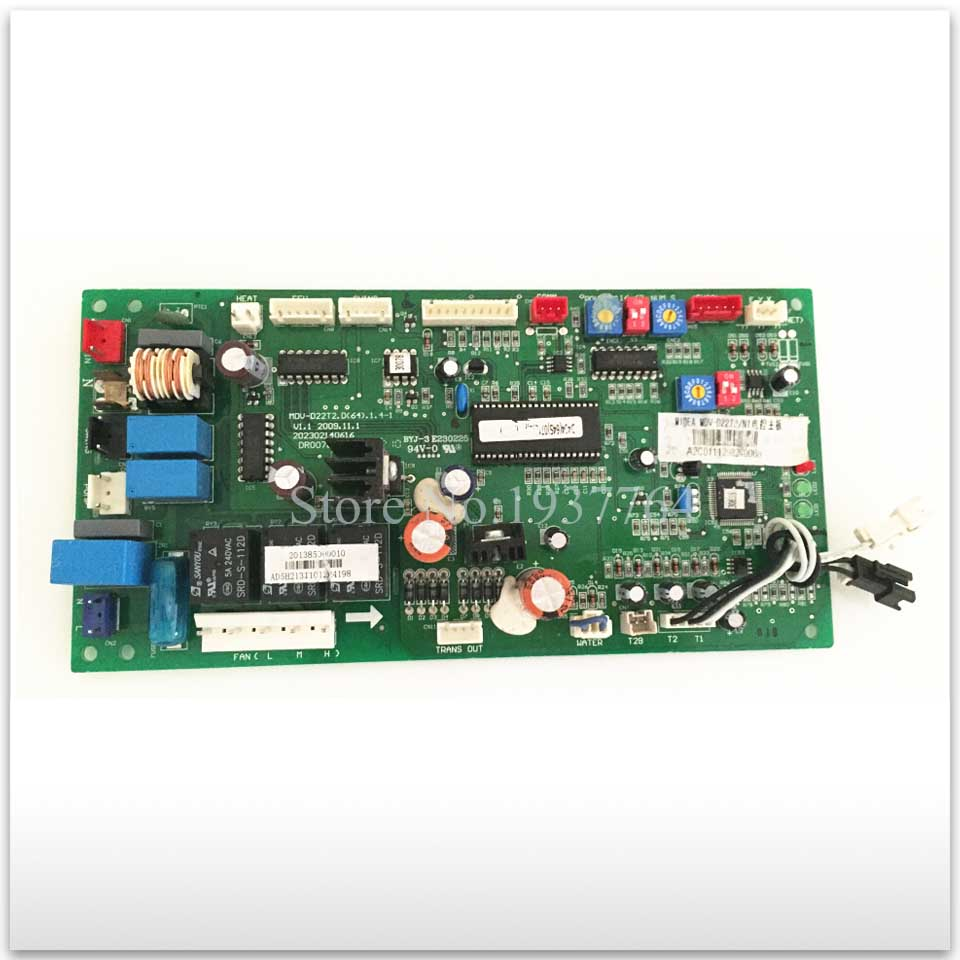 Air conditioning used computer board circuit board MDV-D22T2.D(64).1.4-1 MDV-D22T2 good working  95% new good working for midea air conditioning computer board mdv d22t2 d 1 4 1 mdv d22t2 board