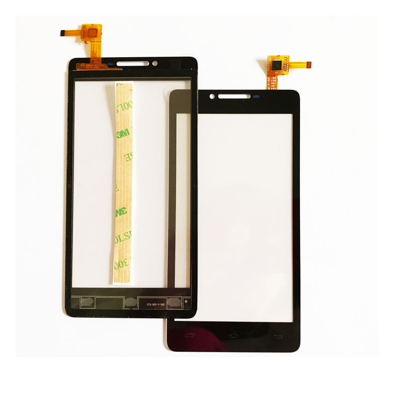 10pcs/lot Touchscreen Black Glass Panel For Prestigio MultiPhone PAP5500 PAP 5500 DUO Touch screen Sensor Digitizer Front Glass