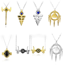 цена на Hot Anime Game Yugioh Yugi Muto Cosplay Accessories Jewelry Necklace Anime Yu-Gi-Oh Millenium Pendant Yu Gi Oh Costume Items
