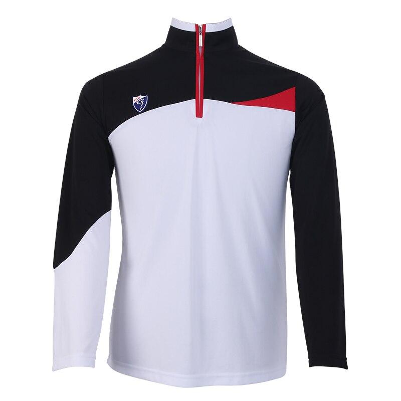 Top qualité Golf authentique automne et hiver chemises hommes col à glissière polos chemises t-shirt séchage rapide à manches longues chemise vêtements