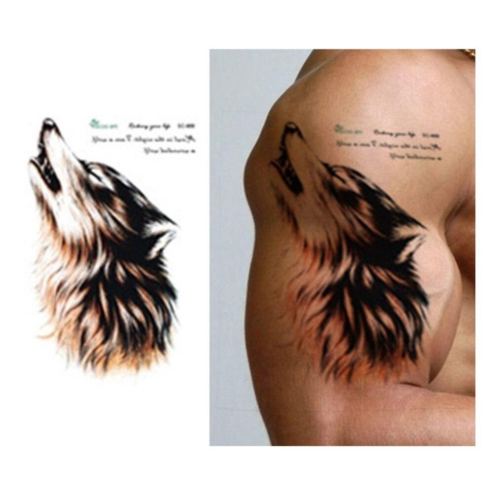 Water Wolf Tattoo
