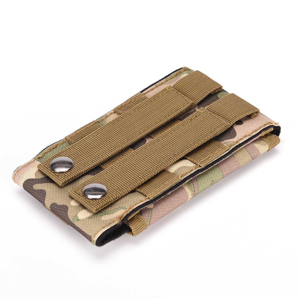 1 unidad pistolera de ejército para iPhone 6 De Apple 5S/5 4S/4 bolsa táctica bolsa para Galaxy S5 S4 S3 funda para teléfono móvil cinturón lazo gancho