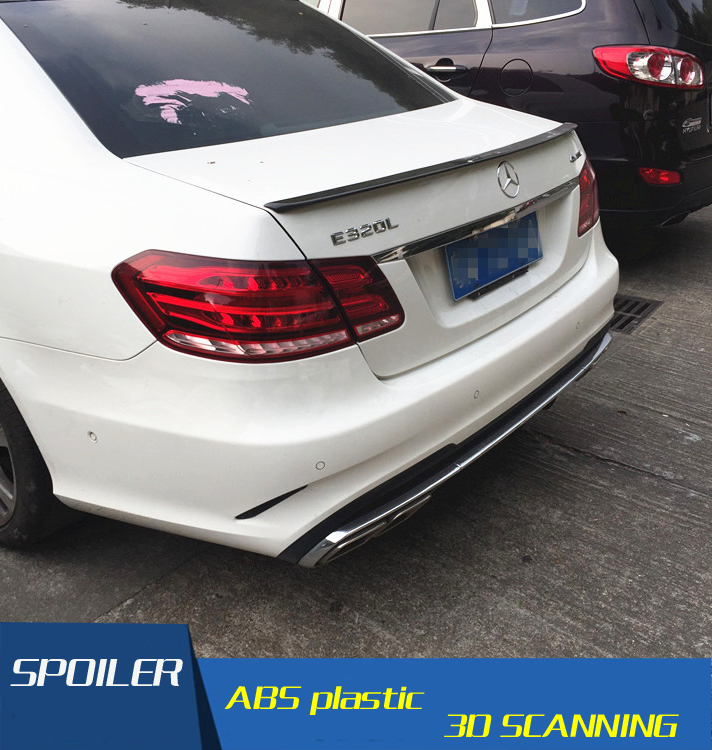 For Benz W212 SpoilerHigh Quality Carbon Fiber Car Rear Wing Spoiler For Benz W212 E300 E400 E260 Spoiler 2015-in Spoilers & Wings from Automobiles & Motorcycles    1