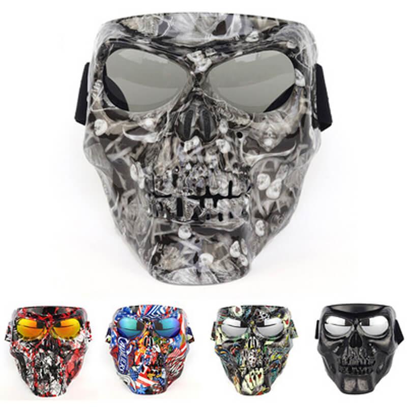 diabo mascara de oculos de protecao tatico esportes ao ar livre oculos de equitacao da motocicleta