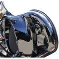 Choppers Negro Carenado Interior Espejo Tapones para Harley Street Glide FLHX Rendido 96-16