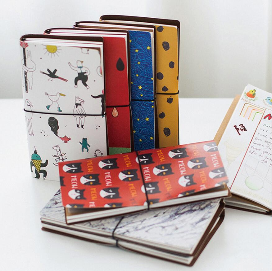 School Supplies Cartoon Handbook DIY Account Financing Notebook Diary Memos Travel Weekly Planner Organizer Notepads Cute Gift