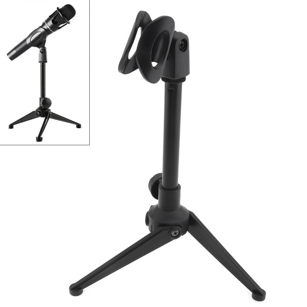 Portable Plastic Microphone Stand Three-Legged