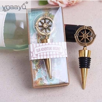 Ynaayu 1pcs Set Glass Bottles Cork Stoppers Party Favors Wedding Favor Gift Giveaways For Guest