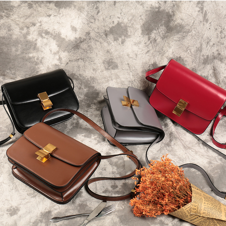 2018 new trend genuine leather women's bag cross body shoulder bag brown red black color flap марина александрова отмечаем день огурца готовим все из огурца