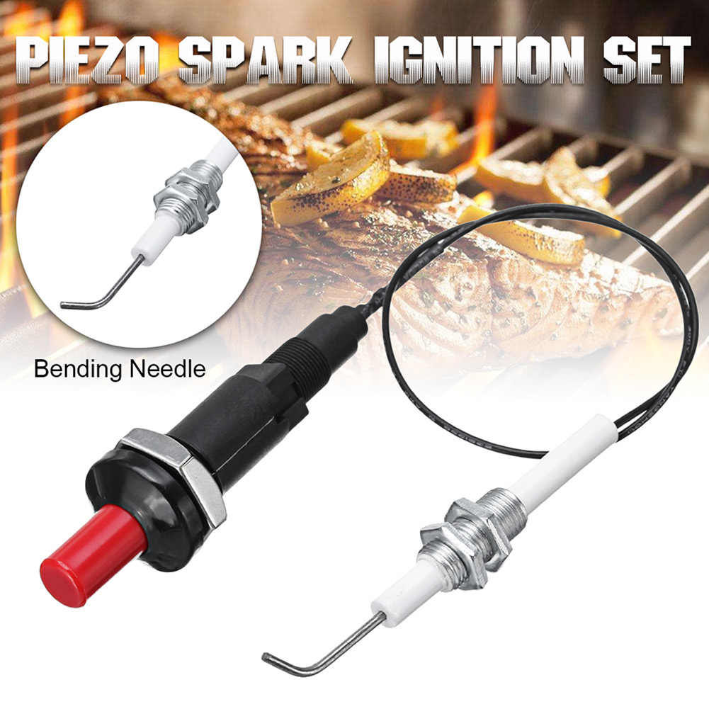 Universal 30cm Piezo Spark Ignition Set for Heater Radiator Gas Grill Cooker BBQ WXV Sale