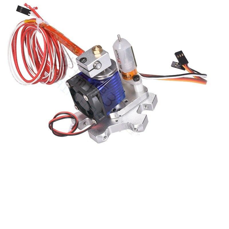 Funssor Aluminum TLTouch auto level V6 Fisheye effector kit for Reprap Kossel 3D printer 1 75mm