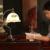 Iluminação interna 110 v-240 v Botão Interruptor da luz E27 40 W Vidro candeeiro de mesa Retro Europeia Flor de Ferro Sala de Estar sala de Estudo Quarto Lâmpada de Mesa